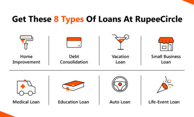 Types of loans at RupeeCircle