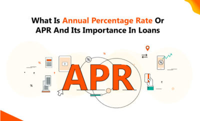 Annual Percentage Rate Or APR